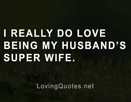 strong wife quotes