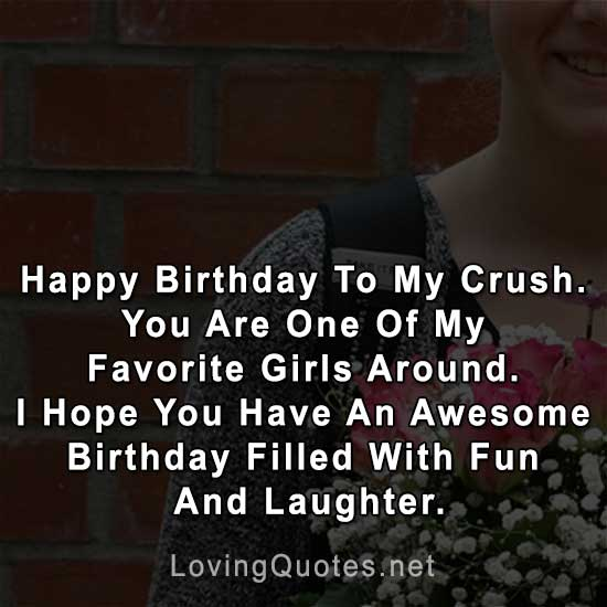 happy-birthday-to-my-crush - Love Quotes & Sayings With Images