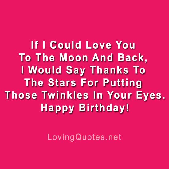 Romantic Birthday Wishes For Girlfriend Image Love Quotes